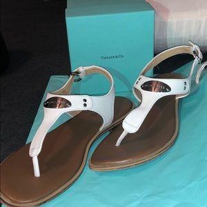 Michael Kors white sandals